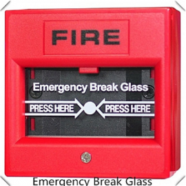 Emergency Door Release Glass Break Fire Alarm Button