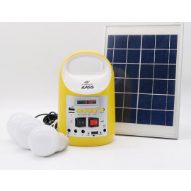 8000mah Solar Power Kit With Battery And Multimedia