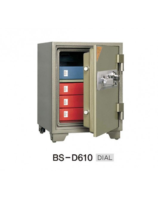 Office Dial Fire Security Safe BS-D610