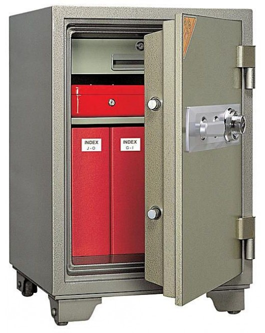 Office Dial Fire Security Safe BS-D750