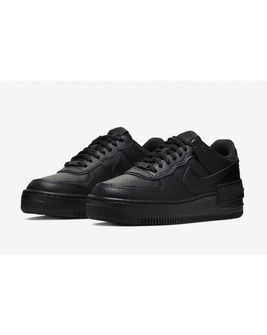 AIRFORCE 1 Shadow All Black -Nike