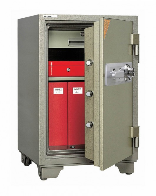 Office Dial Fire Security Safe BS-D880