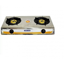 Table Top Double Burner Cooking Gas - Crown Star