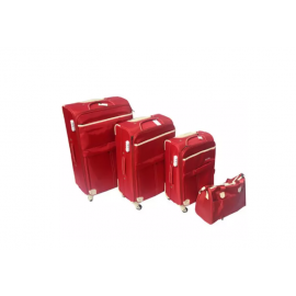 6pcs Set Luggage Red - Sensamite