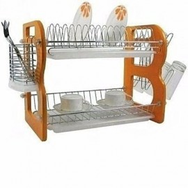 """22""""Plate Rack/Dish Drainer -HOME PRINCE"""