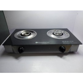 Tabletop 2-Burner Gas Cooker (KN-8012) -Kinelco