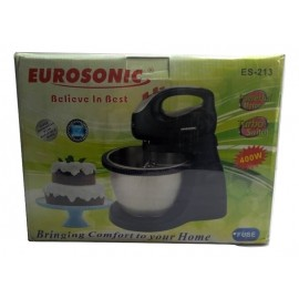 Cake Mixer With Stainless Steel Bowl  (ES-213) -Eurosonic