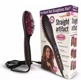 Ceramic Hair Straightening Brush - Simply Straight