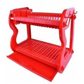2 Layer Dish Rack (L569) - Red