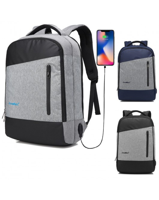 "15.6"" CoolBell BagPack With USB Port CB-504 - Universal"