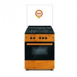 GAS COOKER MAXI 6060(3+1) IGL WOOD -LG