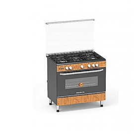 5 Gas Burner With Auto Ignition, (PVWD-960G5G)-Polystar