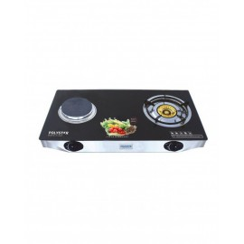 TABLE GAS COOKER WITH GLASS TOP (PV-G2HP1) - POLYSTAR