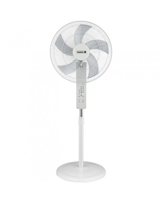 ScanFrost 18 Inches Standing Fan with Remote SFRF18RCW