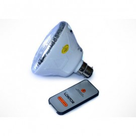 Rechargeable Bulb Remote With Pin to Screw Converter Lontor