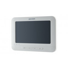 "7"" Indoor Station Touch Screen Video Intercom (DS-KH6310-W) -Hikvison"