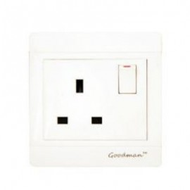 13A 220V 1 Gang Switch Socket VP301M -Goodman