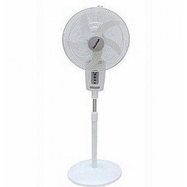 """18"""" Rechageable Standing Fan With Remote -DURAVOLT"""