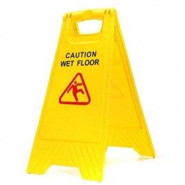 Fordable Wet Floor Caution Sign