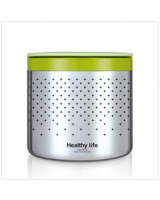 Single Layer Stainless Steel Lunch Box TeDeMei