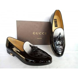 Jordaan leather loafer -GUCCI