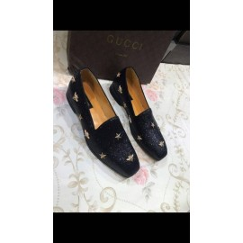 Jordaan embroidered leather loafer 2 -Gucci