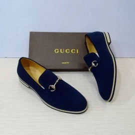 Leather Loafer -Gucci