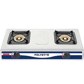 2 Burner Stainless Table Top Cooker (PV-KGRGD057)-Polystar