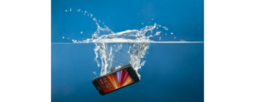 What to do if your Phones drops inside Water