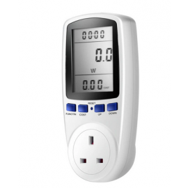 Electrical Power Consumption Meter plug Energy