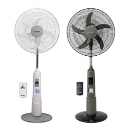 "18"" Rechargeable Fan With remote -QASA"