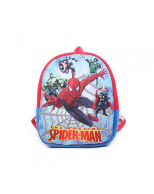Character School Bags Spiderman and Princess for Boys and Girls