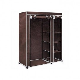 Strong Foldable Frame Mobile Wardrobe Closet (Medium)