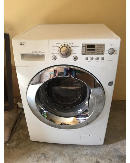 LG USED LG 9kg Automatic direct drive Front Loader washing machine F1403FD